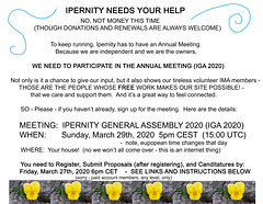 annual meeting - call for participation