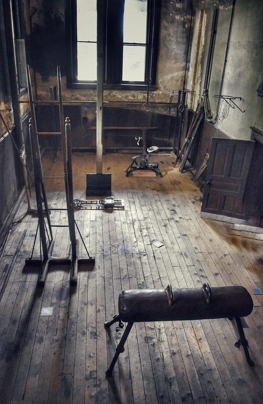 the vintage gym....