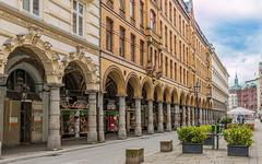 Hamburg - Colonnaden (180°)