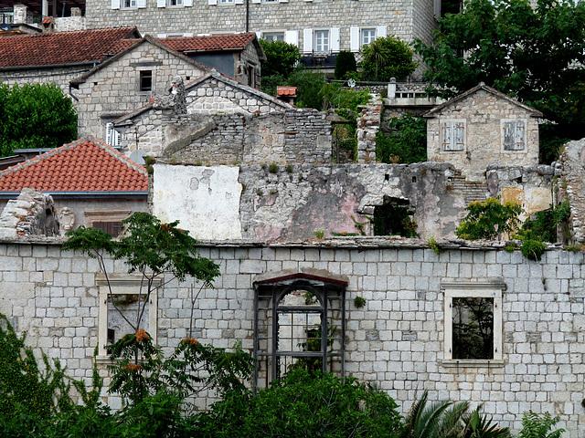 Perast- Ruined House