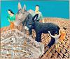Man kann die Esel zur Tränke führen, saufen müssen sie selbst.  Lead a Donkey to water, but you can't make it drink. ©UdoSm