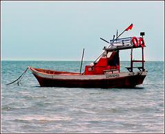 Maceio : una delle tante barche per andare sulla barriera corallina