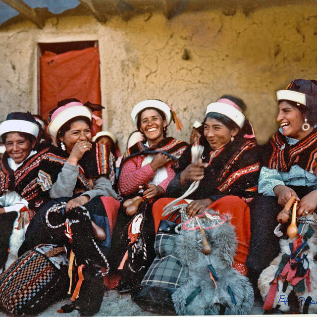 Smiles from  Huarisca - Huancayo, Peru