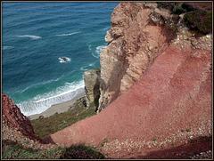 More coastal erosion near Porthtowan.