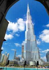 Der Burj im Rahmen. ©UdoSm