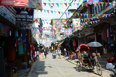 Kathmandu, Thamel Marg