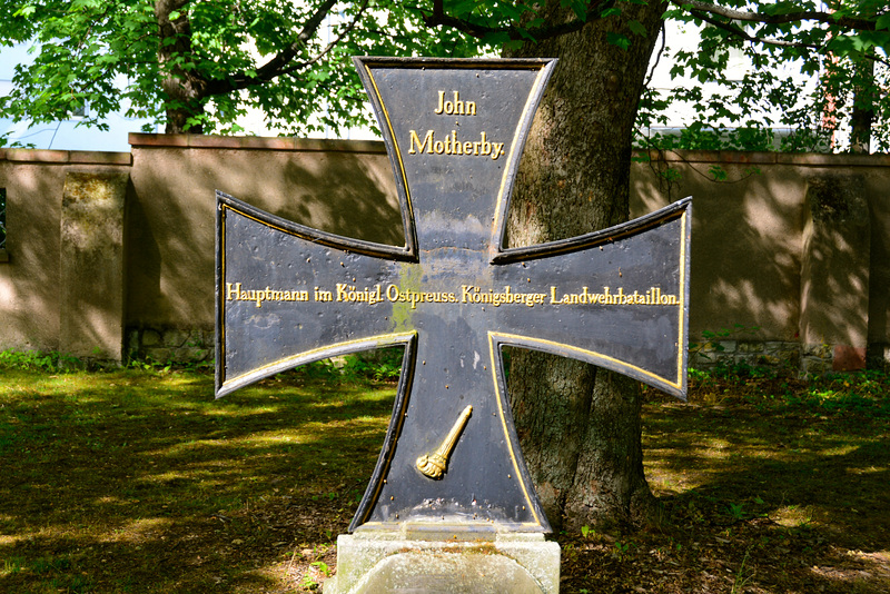 Leipzig 2015 – Alter Johannisfriedhof – Grave of John Motherby