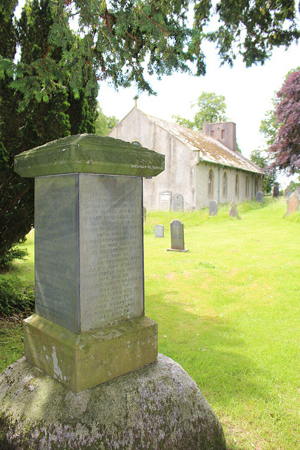 Blencathra Foxhounds Memorial, Saint Mary's Churchyard, Threlkeld, Cumbria