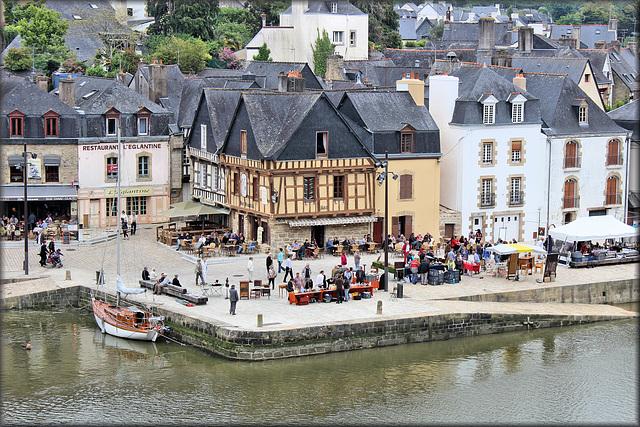 Auray (56) 9 juin 2013. Quartier de Saint-Goustan.