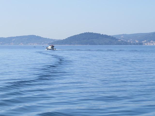 Entre Zadar et l'île de Pasman.