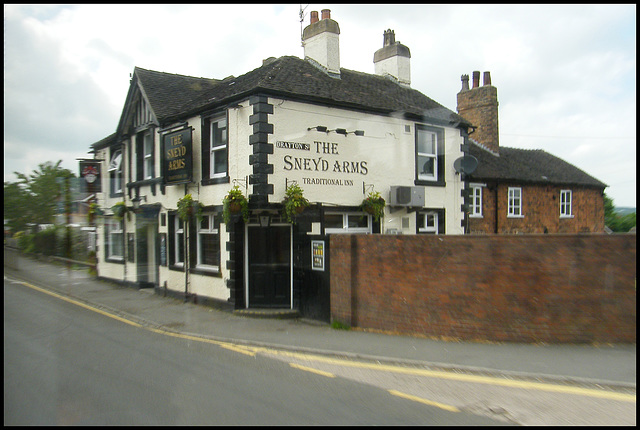 The Sneyd Arms at Newcastle