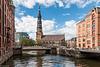Hamburg - St. Katharinen von der Pickhubenbrücke (330°)