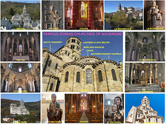 France Auvergne Roman Churches