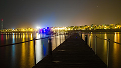 night at the jetty