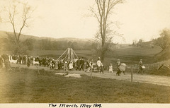 Maypole March, May 1914