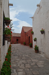 Peru, Arequipa, Santa Catalina Monastery, Calle Cordoba