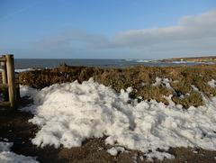 ce matin il neige en Bretagne