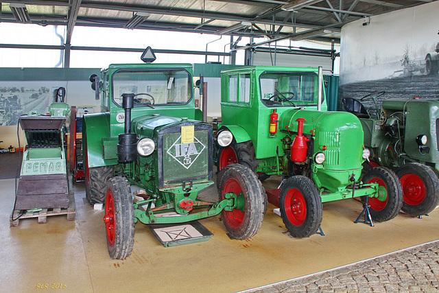 "Alte Traktoren: IFA RS 01 ""Pionier"""