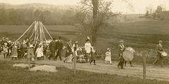 Maypole March, May 1914 (Cropped)