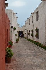 Peru, Arequipa, Santa Catalina Monastery, Calle Toledo