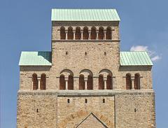 Das Westwerk des Doms zu Hildesheim