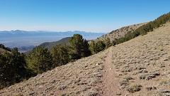 Coming into Columbine Canyon