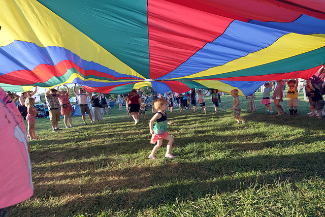 Parachute fun for kids
