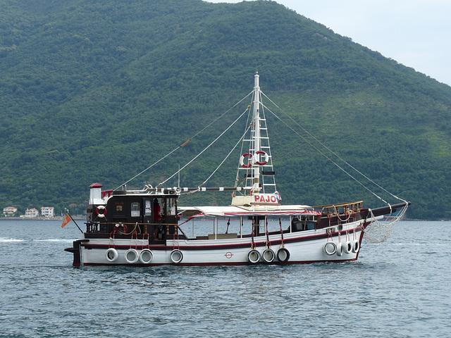 Empty Tourist Boat