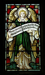 Window by Daniells and Fricker of London, Llandenny Church, Monmouthshire