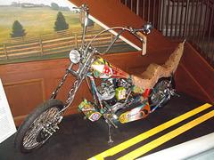 Artwork motorcycle.
