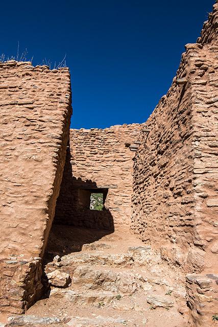 The ruins of Jemez Pueblo24