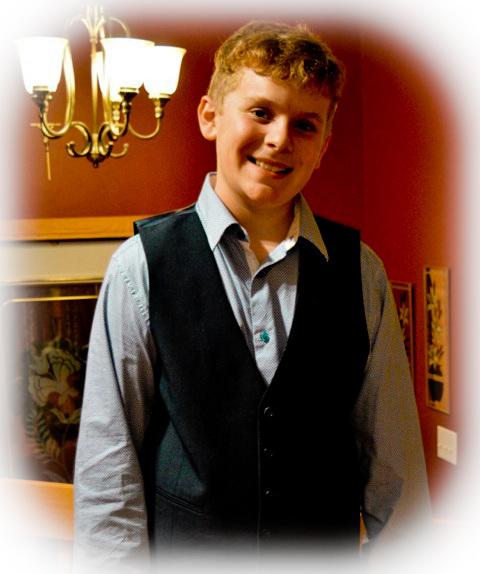 Joël mon petit-fils - 14 ans.