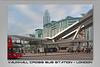 Vauxhall Cross bus station - London 30 10 2014