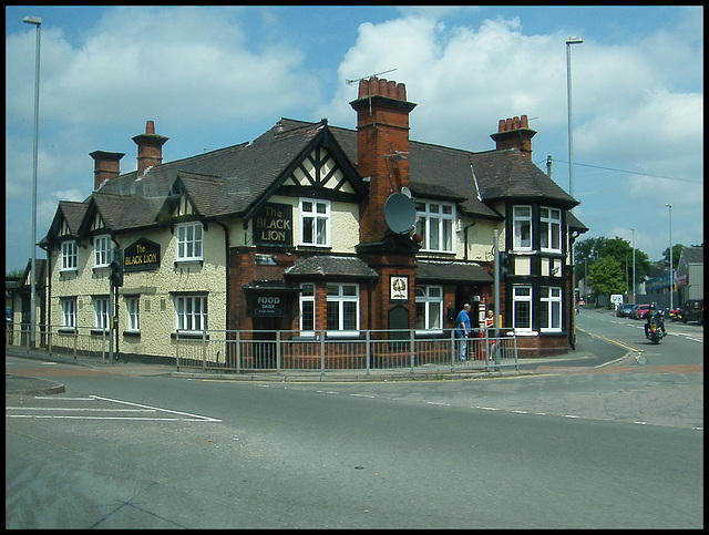 The Black Lion at Stoke