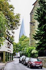 Soest, der schiefe Kirchturm von Alt St. Thomae