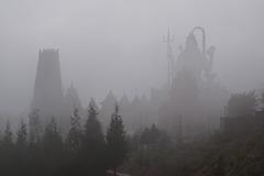 Mist in Char Dham, Namchi