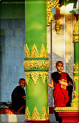 little monks at Myanmar
