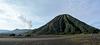 Indonesia, Java, Bromo Volcano (2329m) and Mount Batok (2470m)
