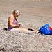 Ladybird on a Beach