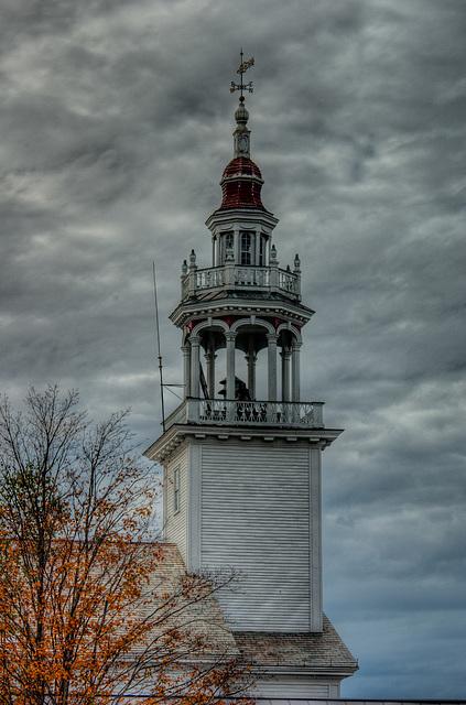 Ashfield MA steeple