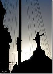 """Siluetas"" - Catedral de Santiago de Chile"
