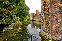 The Bishop's Palace Moat ~ Wells.