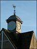 Witney clock and weathervane