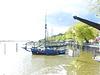 Fischer an der Elbe