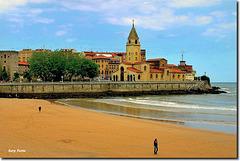 Playa de San Lorenzo - Gijón - Asturias