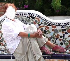 Madame Christine masquée à Agadir