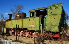 #16 Rusted locomotive