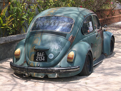 Smiling Volkswagen of yester years / Cox souriante des belles années