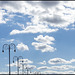 lampposts in the sky