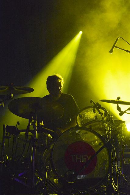 Giant drummer